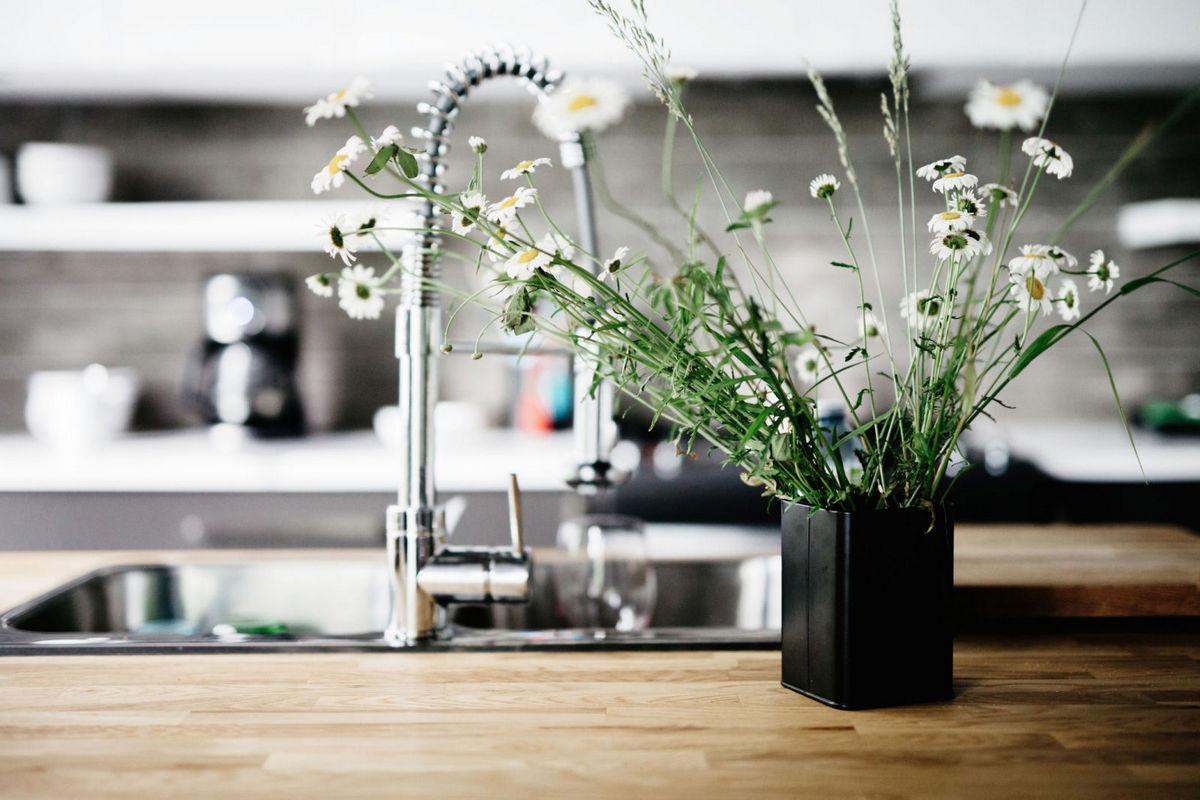 Nettoyer Les Placards De Cuisine une cuisine propre et stratégique - 19# facile à nettoyer